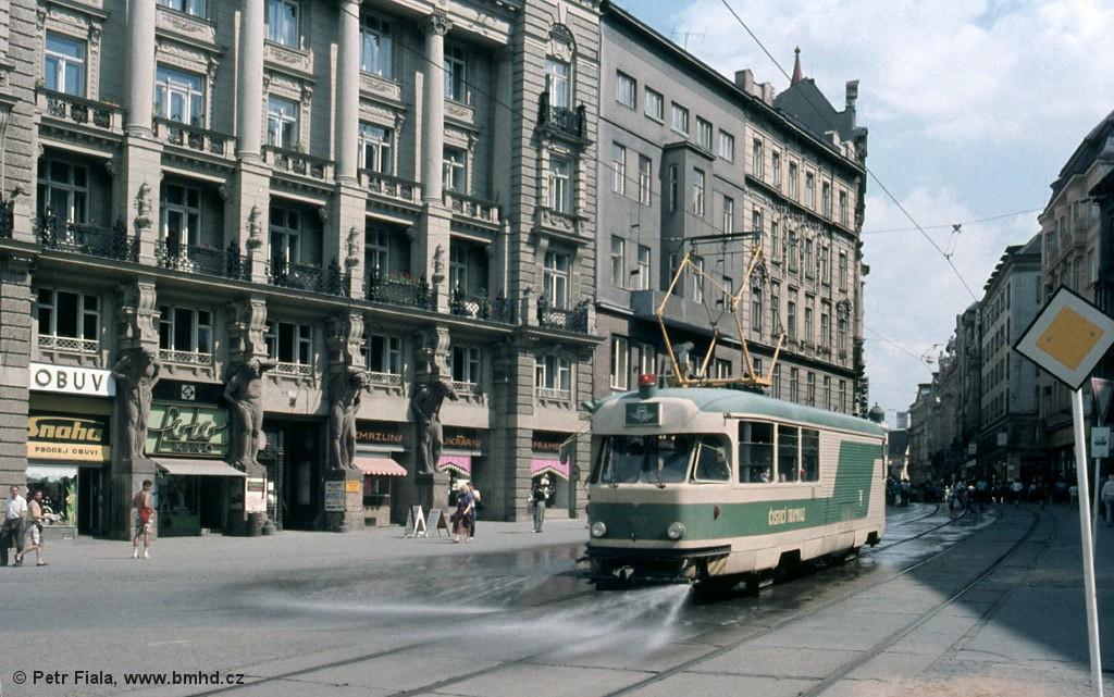 Fotogalerie » Tatra T2 služební 4113 | Brno | střed | náměstí Svobody