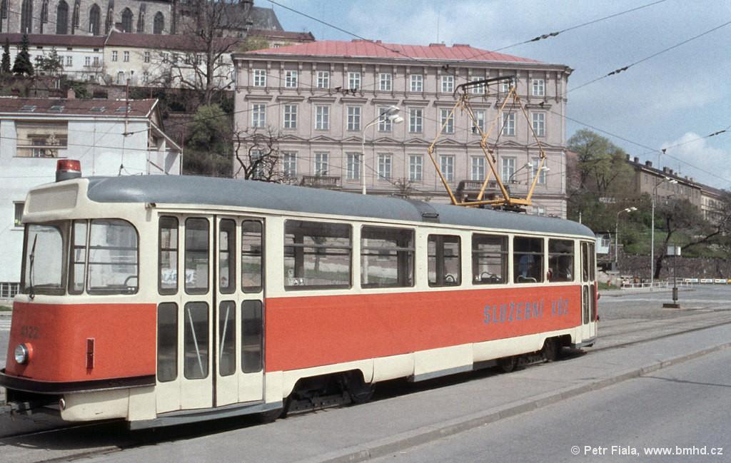 Fotogalerie » Tatra T2 služební 4122 | Brno | střed | Nové sady