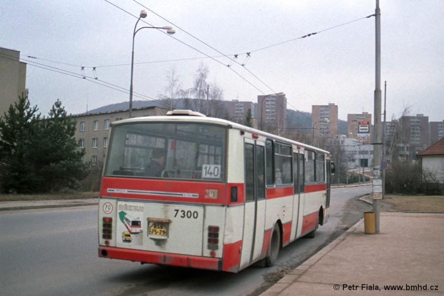 Fotogalerie » Karosa B732.1652 7300   Brno   Bystrc   náměstí 28. dubna   Náměstí 28. dubna