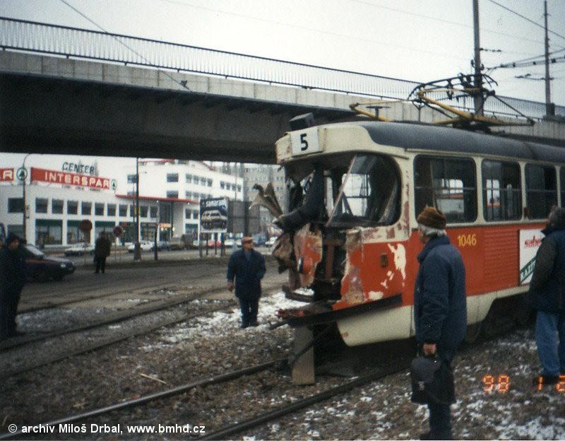 Fotogalerie » ČKD Tatra K2 1046 | Brno | Štýřice | Vídeňská