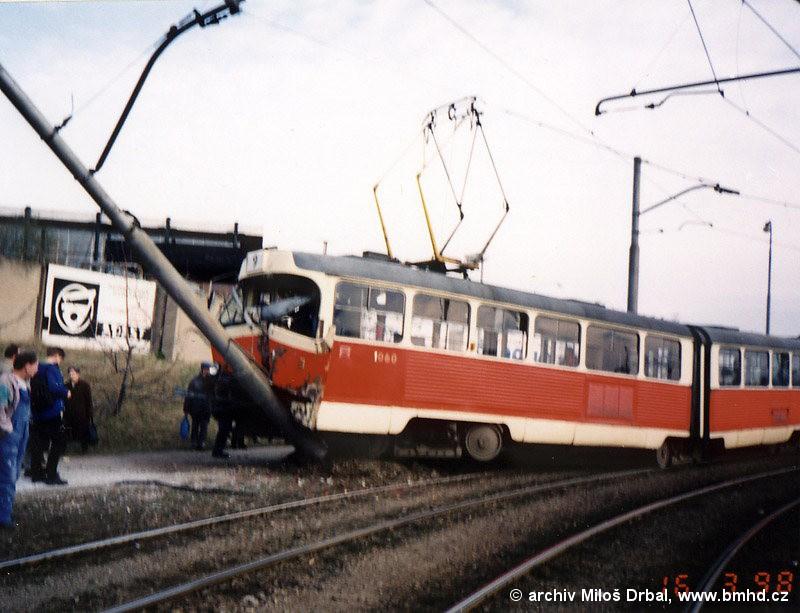Fotogalerie » ČKD Tatra K2 1060 | Brno | Lesná | Halasovo náměstí