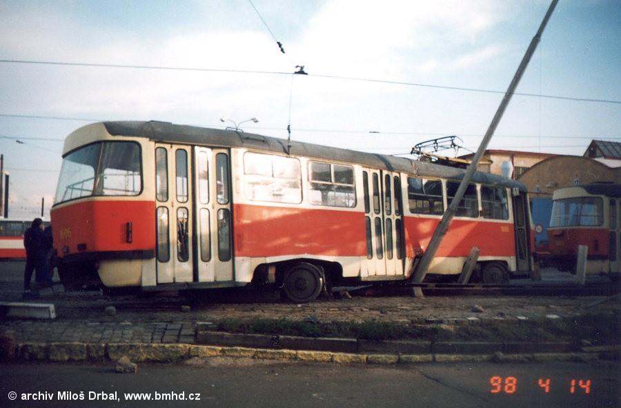 Fotogalerie » ČKD Tatra T3G 1606 | Brno | vozovna Medlánky