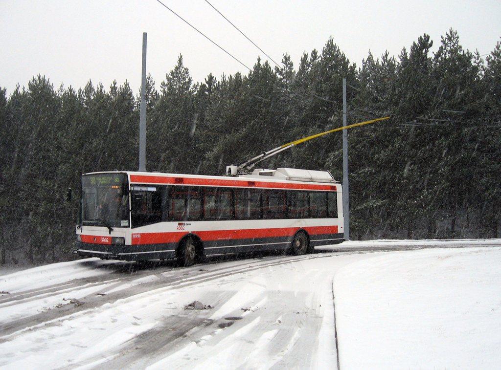 Fotogalerie » Škoda 21Tr 3002 | Brno | Bystrc | Černého | Bystrc, Černého