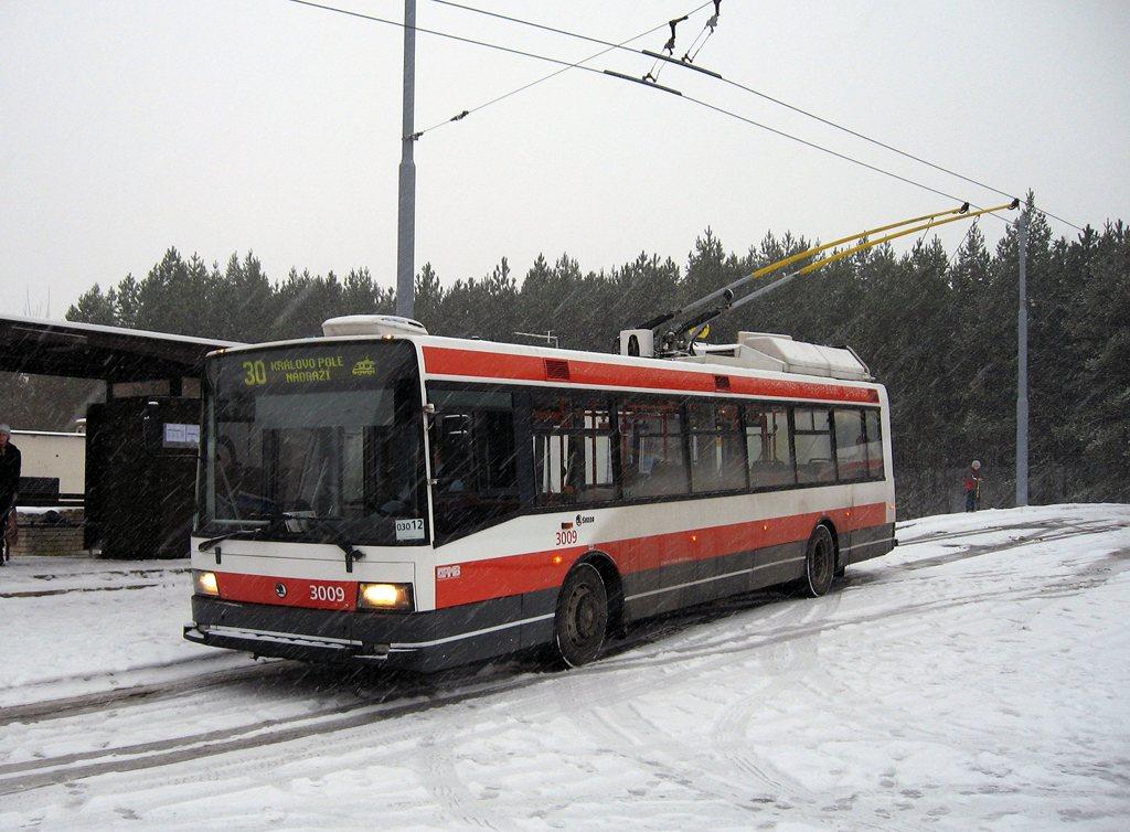 Fotogalerie » Škoda 21Tr 3009 | Brno | Bystrc | Černého | Bystrc, Černého