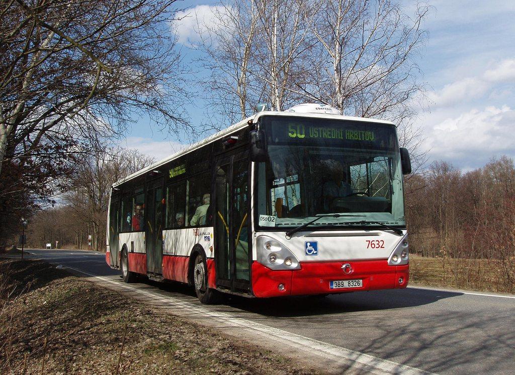 Fotogalerie » Irisbus Citelis 12M 7632   Brno   Žebětínská   Stará Dálnice