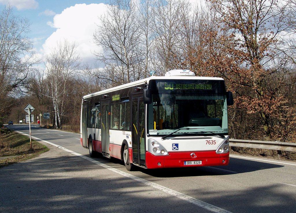 Fotogalerie » Irisbus Citelis 12M 7635   Brno   Žebětínská   Stará Dálnice