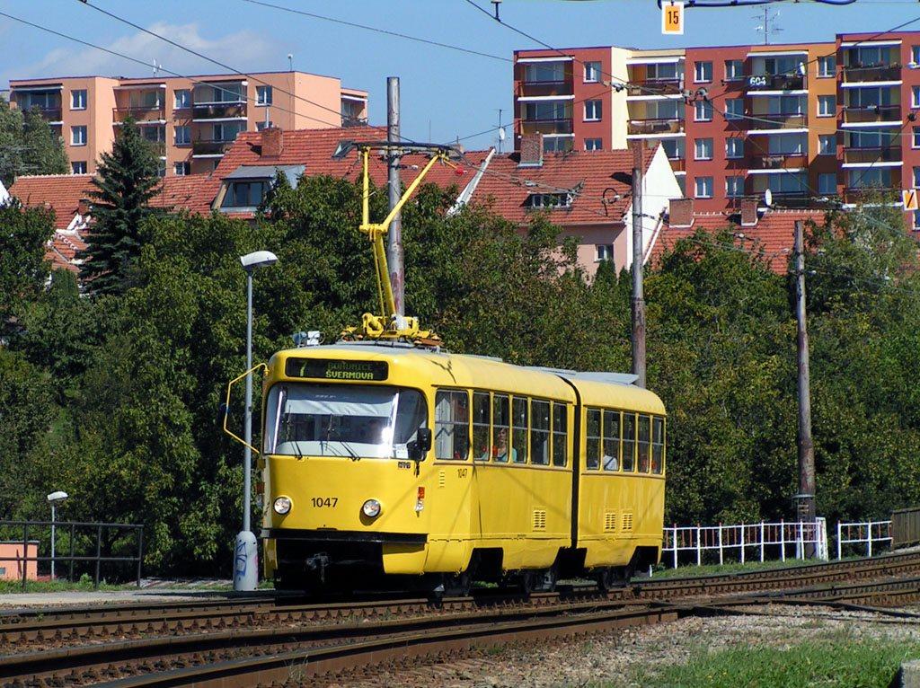 Fotogalerie » ČKD Tatra K2P 1047 | Brno | Bohunice