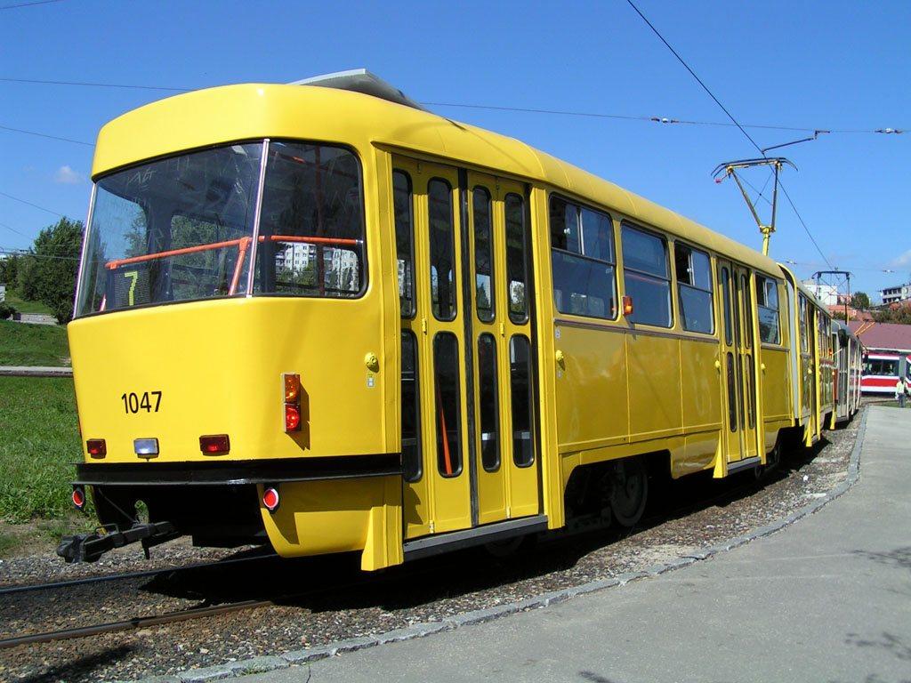 Fotogalerie » ČKD Tatra K2P 1047 | Brno | Bohunice | Švermova, smyčka