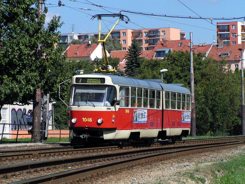 Fotogalerie » ČKD Tatra K2P 1046 | Brno | Bohunice