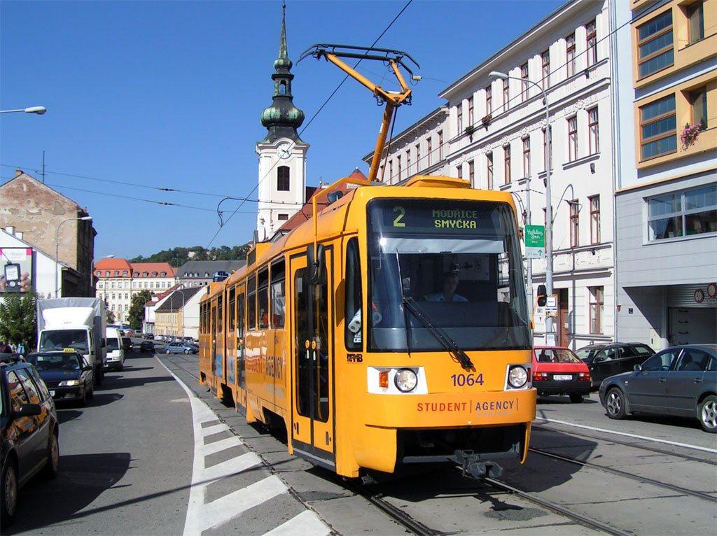Fotogalerie » ČKD Tatra K2R 1064 | Brno | Štýřice | Vídeňská