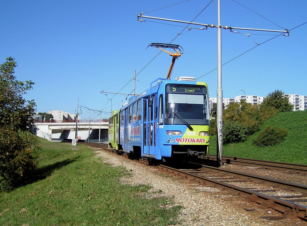Fotogalerie » ČKD Tatra K2R03 1059 | Brno | Bohunice