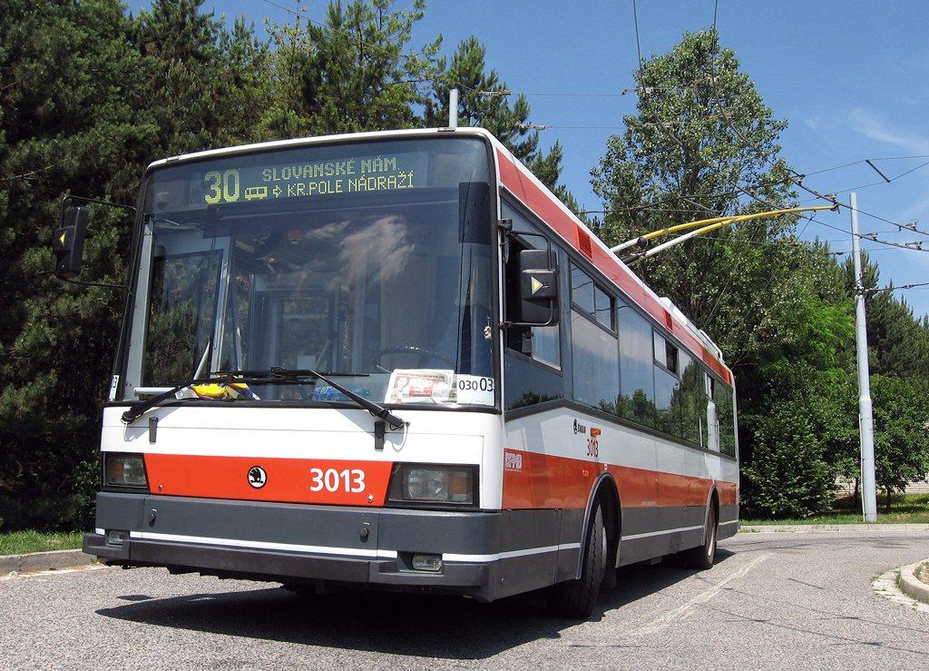 Fotogalerie » Škoda 21Tr 3013 | Brno | Bystrc | Černého | Černého