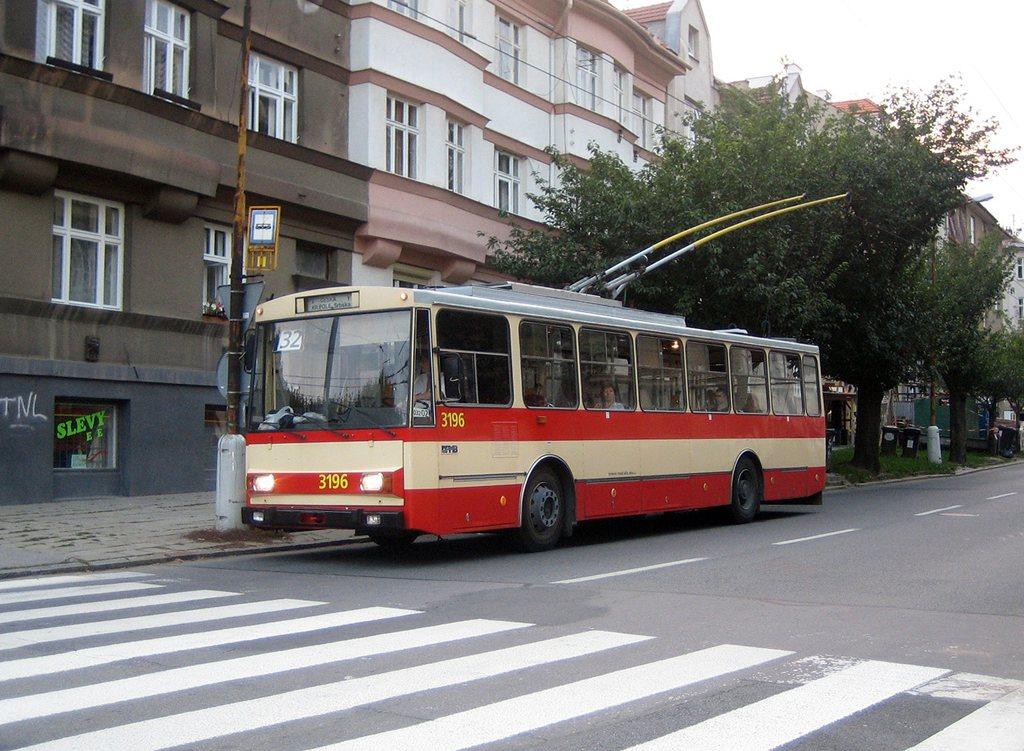 Fotogalerie » Škoda 14Tr07 3196 | Brno | Královo Pole | Srbská | Slovanské náměstí