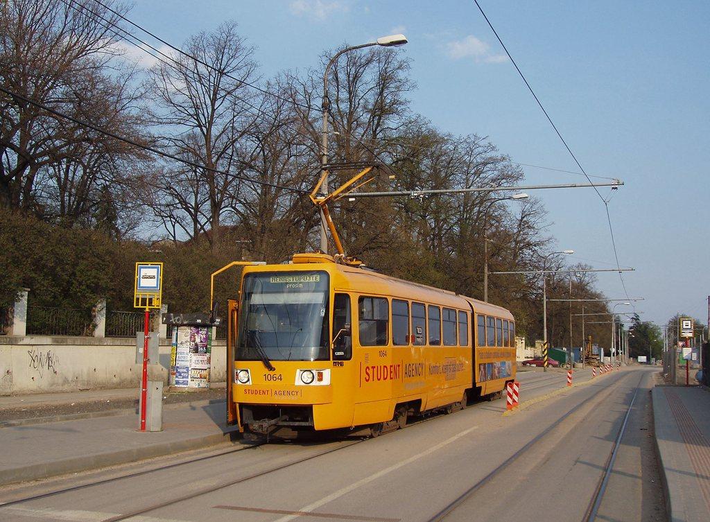 Fotogalerie » ČKD Tatra K2R 1064 | Brno | Pisárky | Hlinky | Pisárky