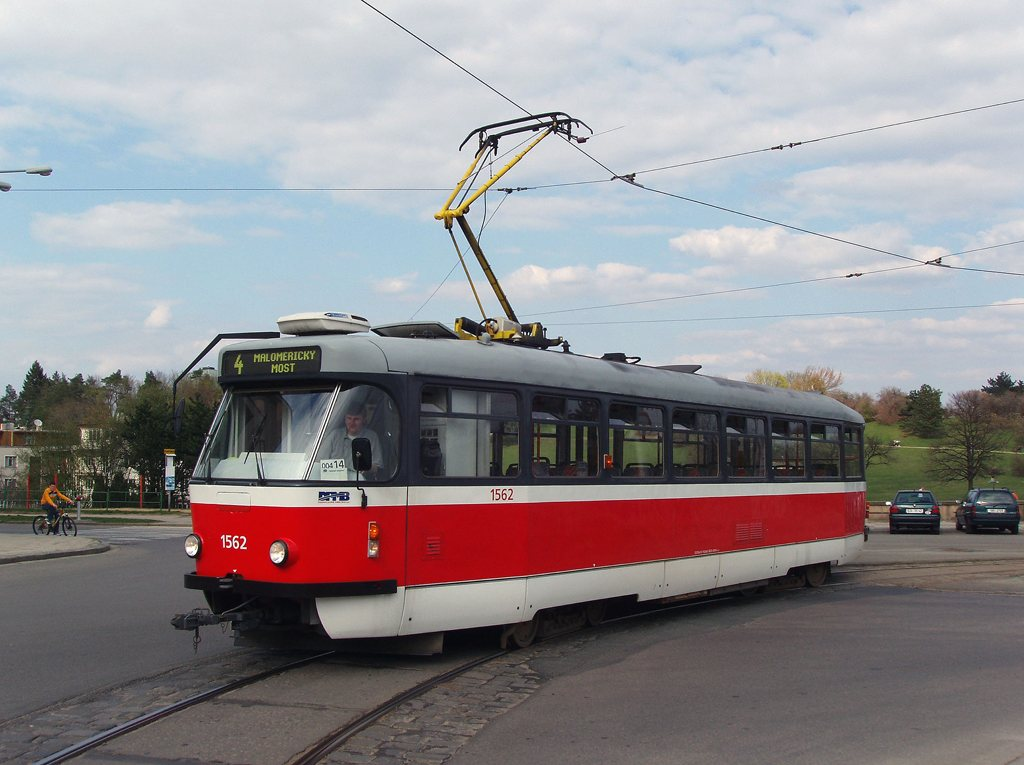 Fotogalerie » Pragoimex T3R.EV 1562 | Brno | Masarykova čtvrť | Náměstí míru | Náměstí Míru, smyčka