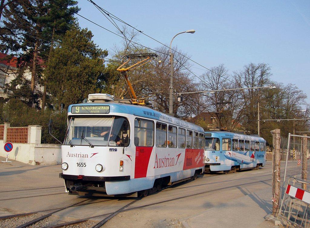 Fotogalerie » Pragoimex T3R.PV 1655 | Pragoimex T3R.PV 1656 | Brno | Pisárky | Hlinky