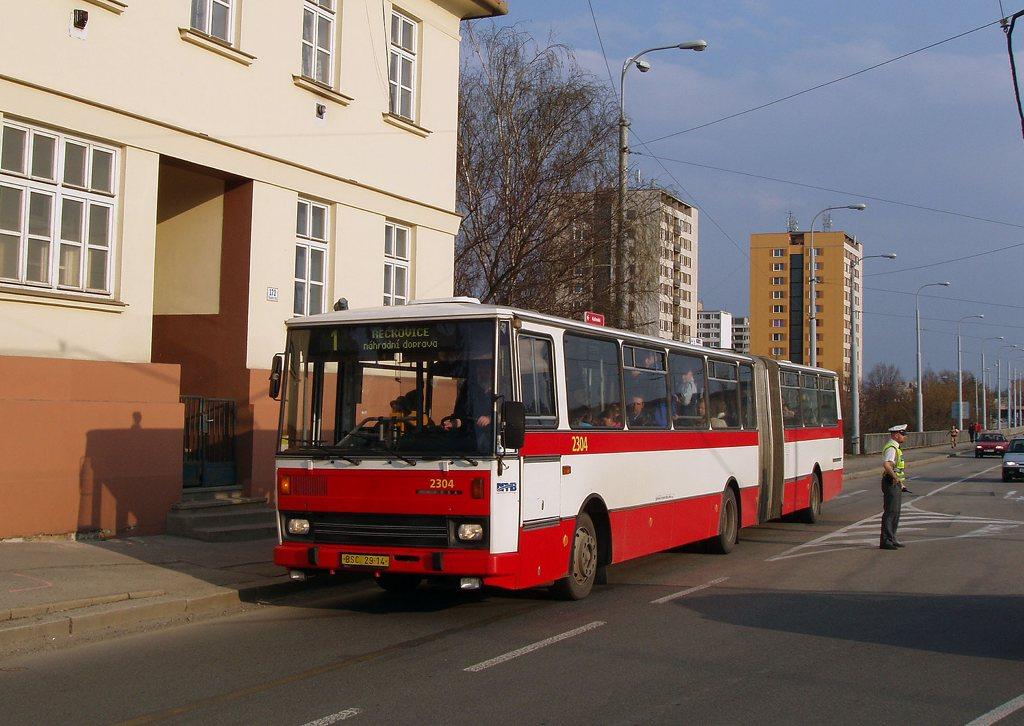 Fotogalerie » Karosa B741.1916 2304 | Brno | Medlánky | Kuřimská