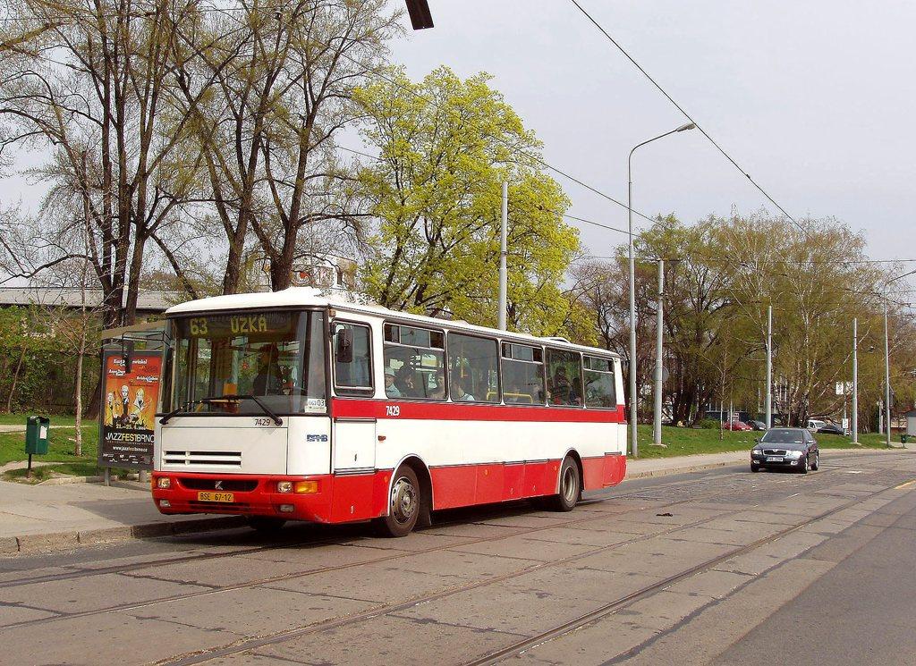 Fotogalerie » Karosa B931.1675 7429 | Brno | Trnitá | Dornych | Zvonařka