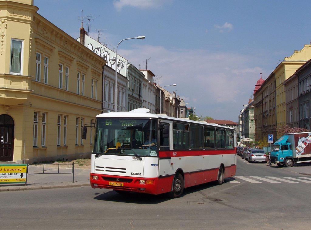 Fotogalerie » Karosa B931E.1707 7462 | Brno | Žabovřesky | Tábor