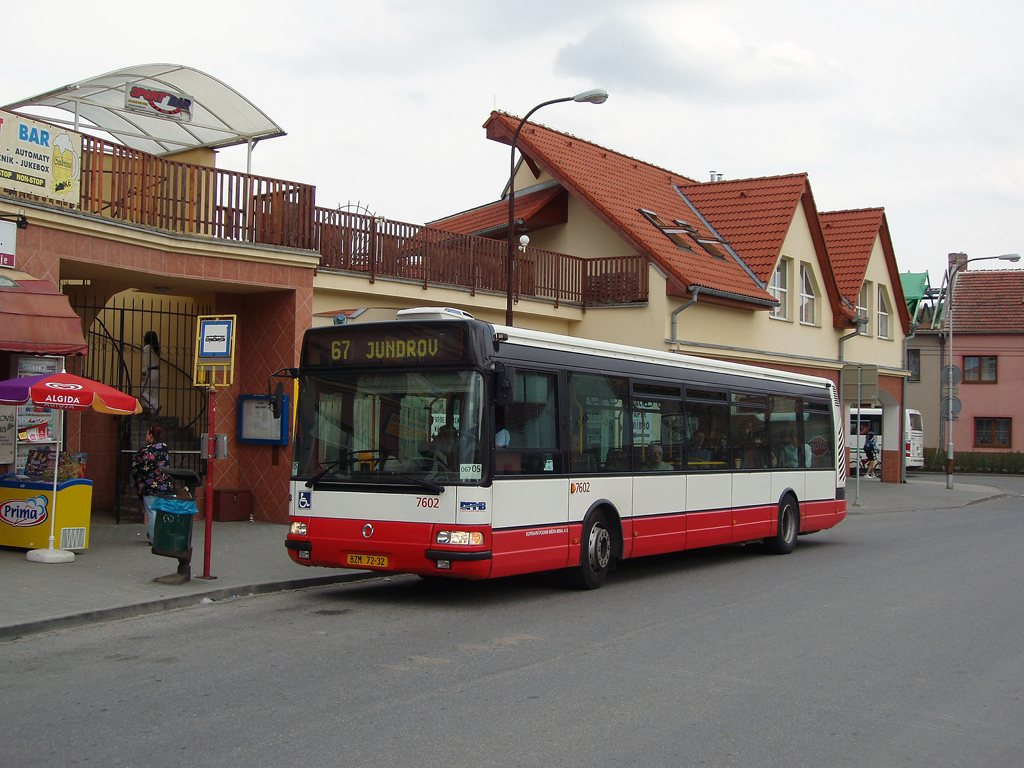 Fotogalerie » Irisbus Citybus 12M 2071.20 7602   Brno   Jundrov   Optátova   Optátova