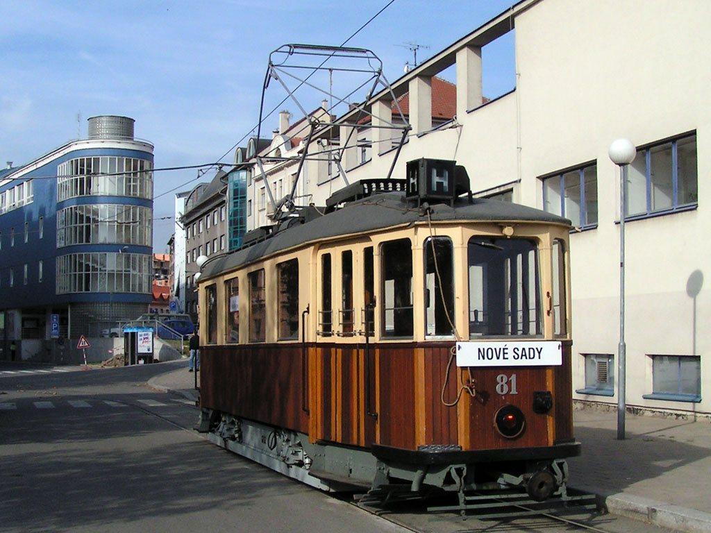 Fotogalerie » KPS Brno mv6.1 81 | Brno | Staré Brno | Nádražní | Nové sady, smyčka