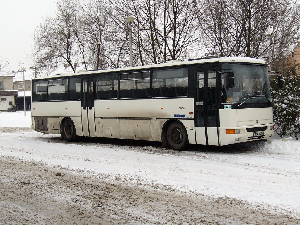 Fotogalerie » Karosa C954.1360 1B4 4619 | Slavkov u Brna | Slavkov u Brna, aut. st.
