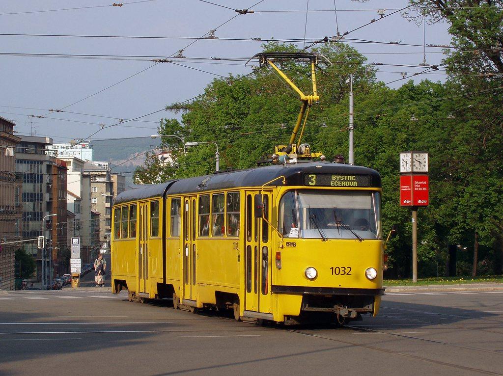 Fotogalerie » ČKD Tatra K2P 1032 | Brno | střed | Moravské náměstí