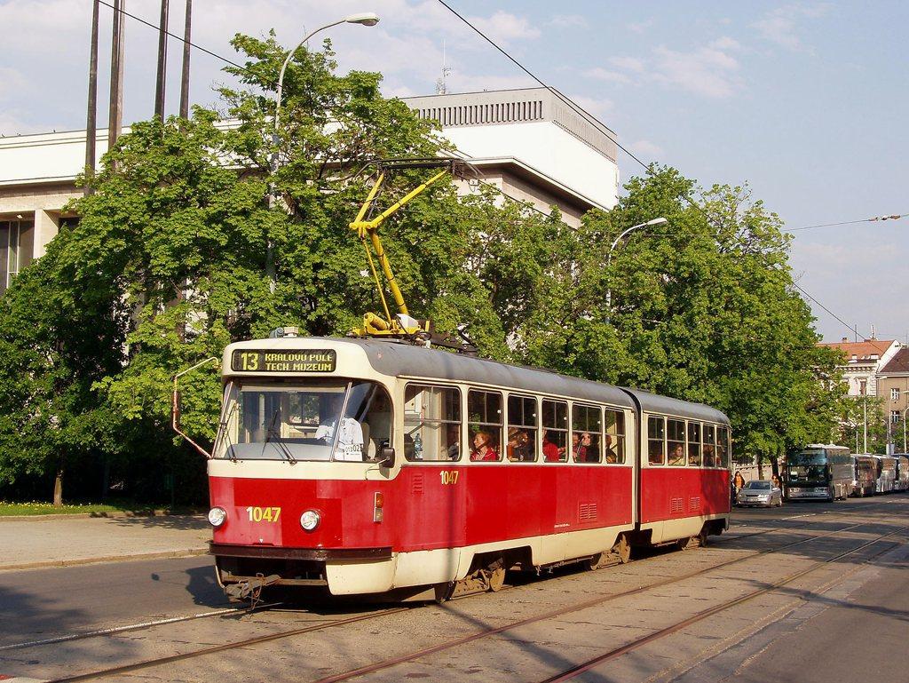 Fotogalerie » ČKD Tatra K2P 1047 | Brno | střed | Rooseveltova