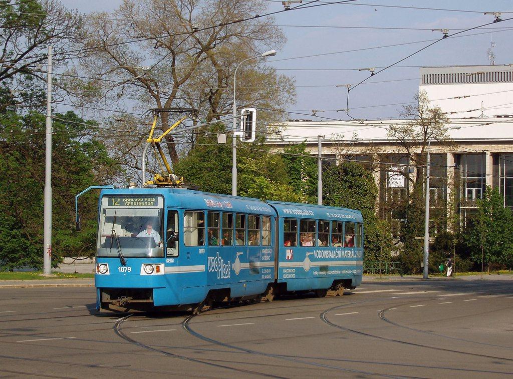 Fotogalerie » ČKD Tatra K2R03 1079 | Brno | střed | Moravské náměstí