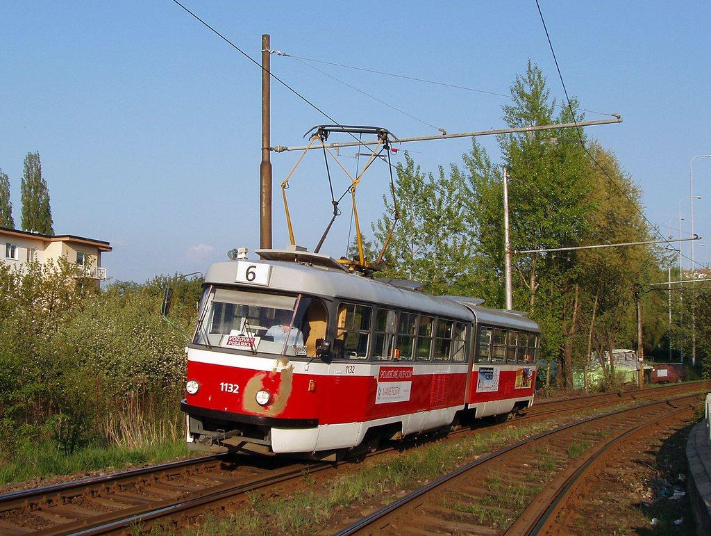 Fotogalerie » ČKD Tatra K2YU 1132 | Brno | Žabovřesky
