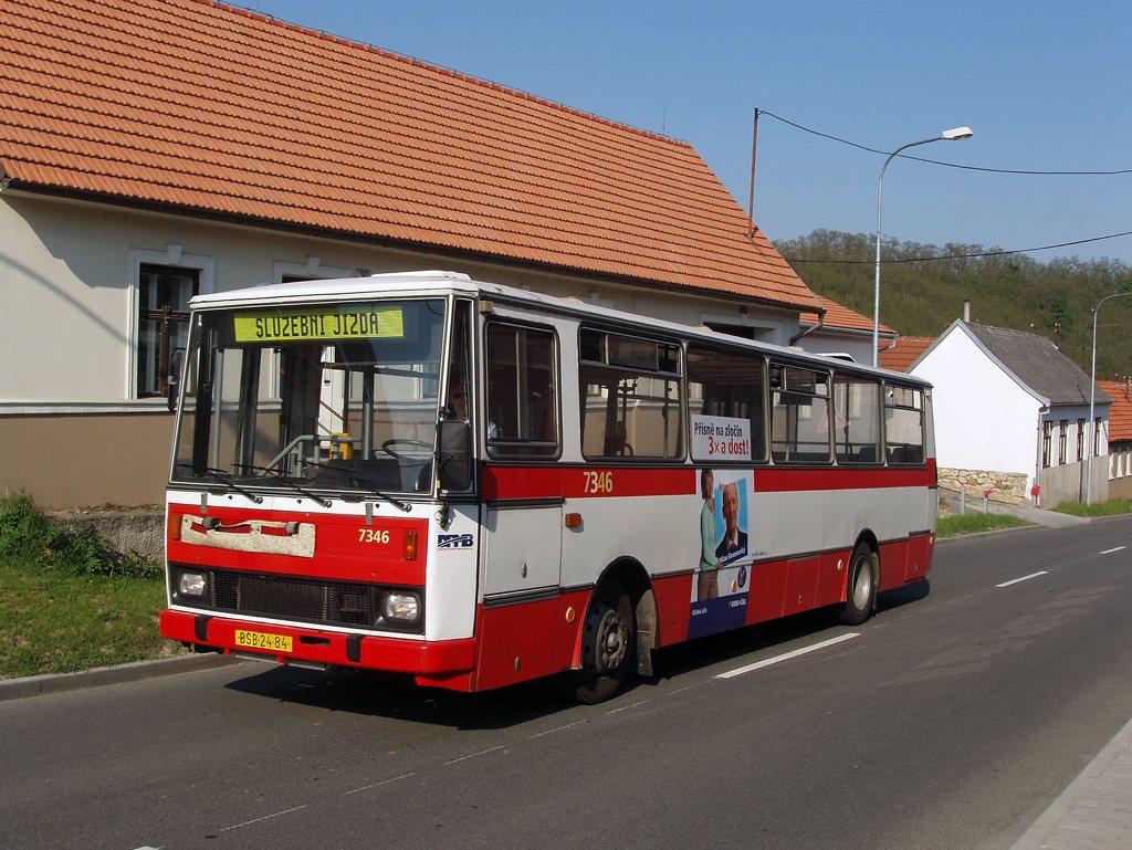Fotogalerie » Karosa B732.1654 7346 | Brno | Líšeň | Ondráčkova