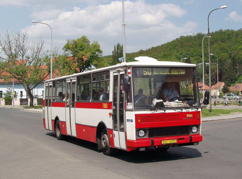 Fotogalerie » Karosa B732.1654.3 7383 | Brno | Bystrc | Zoologická zahrada