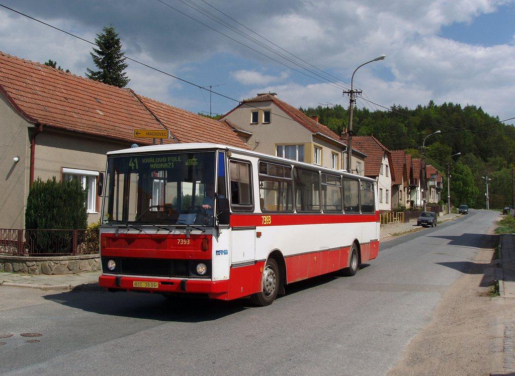 Fotogalerie » Karosa B732.1654.3 7393 | Lelekovice | Lelekovice, u kříže