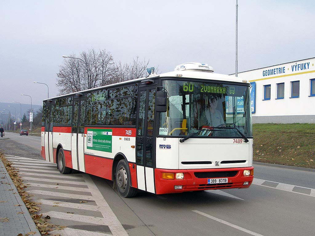 Fotogalerie » Karosa B951E.1713 7489 | Brno | Bohunice | Kamenice