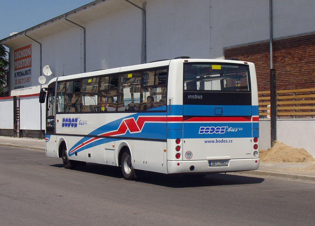 Fotogalerie » Irisbus Midway 9.7M 3B7 7853   Brno   střed   Zvonařka