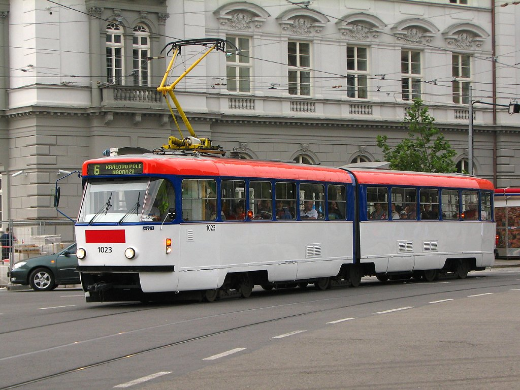 Fotogalerie » ČKD Tatra K2P 1023 | Brno | střed | Joštova