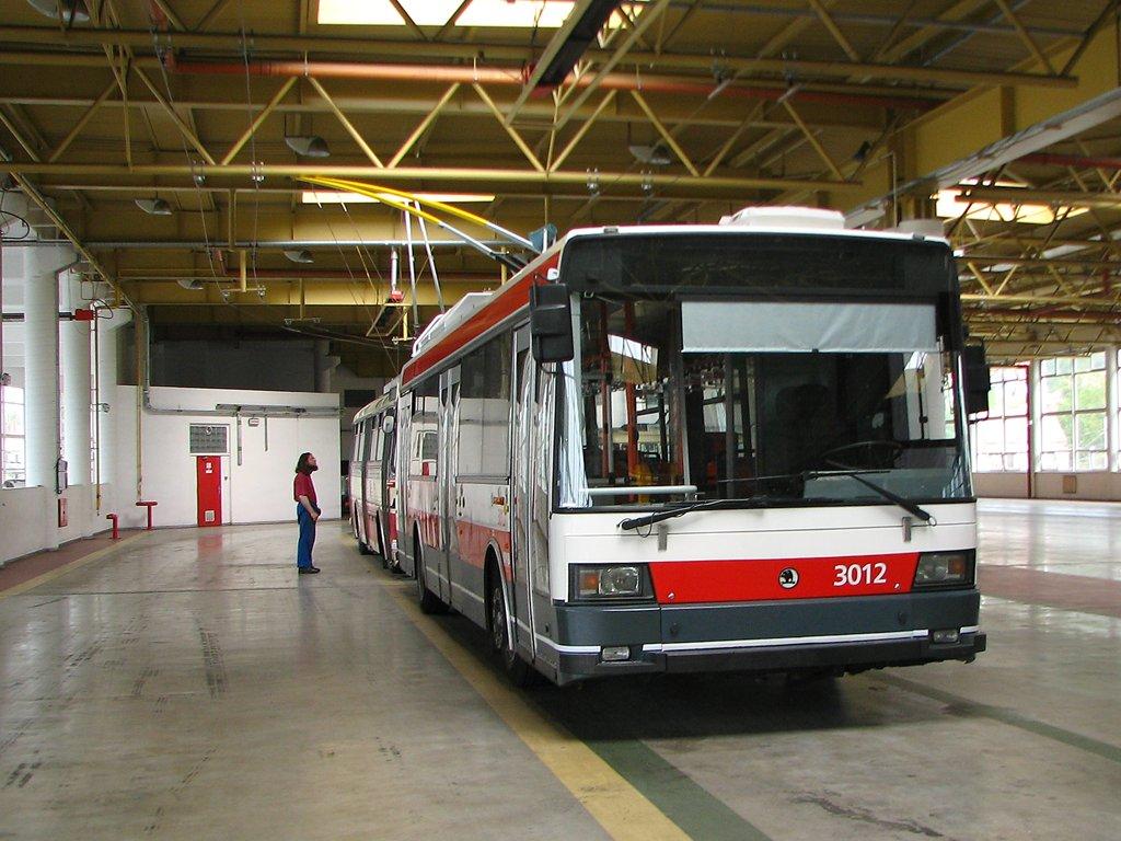 Fotogalerie » Škoda 21Tr 3012 | Brno | Komín | vozovna Komín