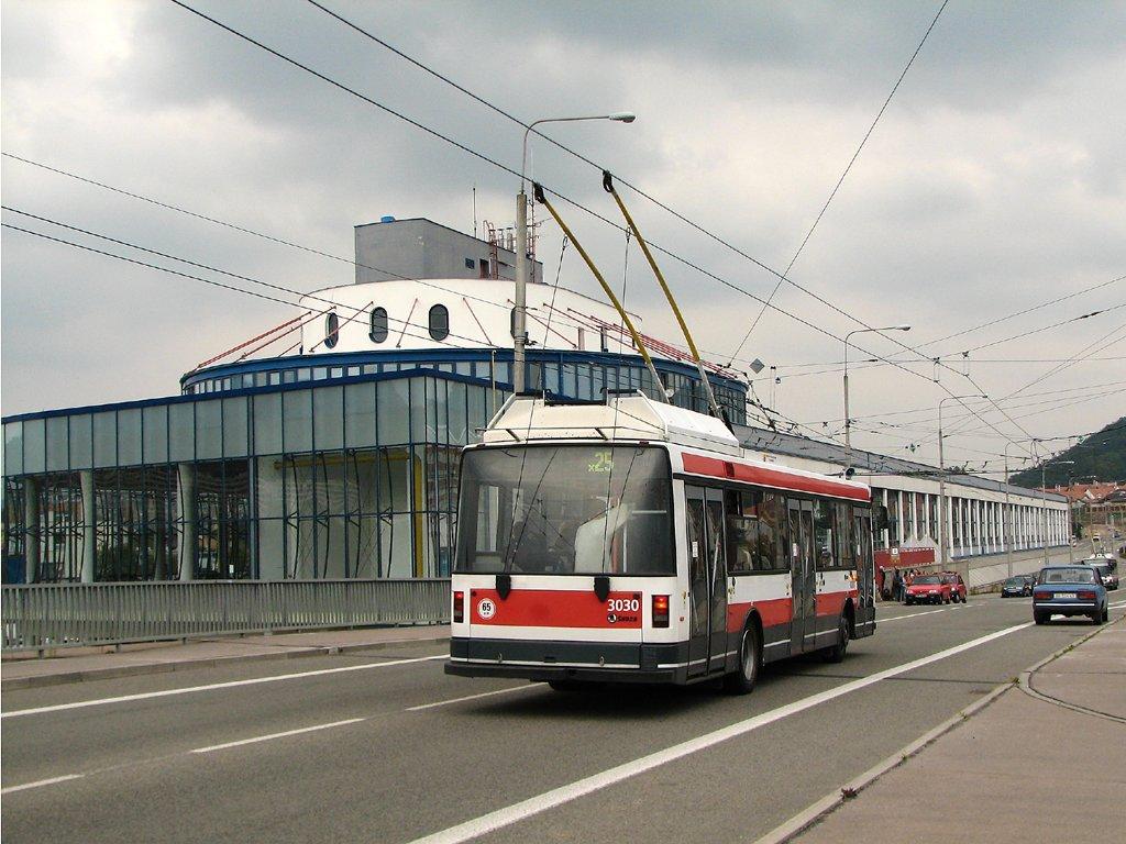 Fotogalerie » Škoda 21Tr 3030 | Brno | Komín | Veslařská