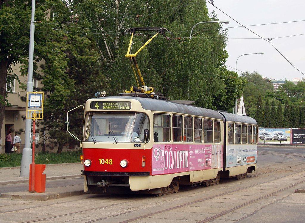 Fotogalerie » ČKD Tatra K2P 1048 | Brno | Maloměřice | Dolnopolní | Maloměřický most