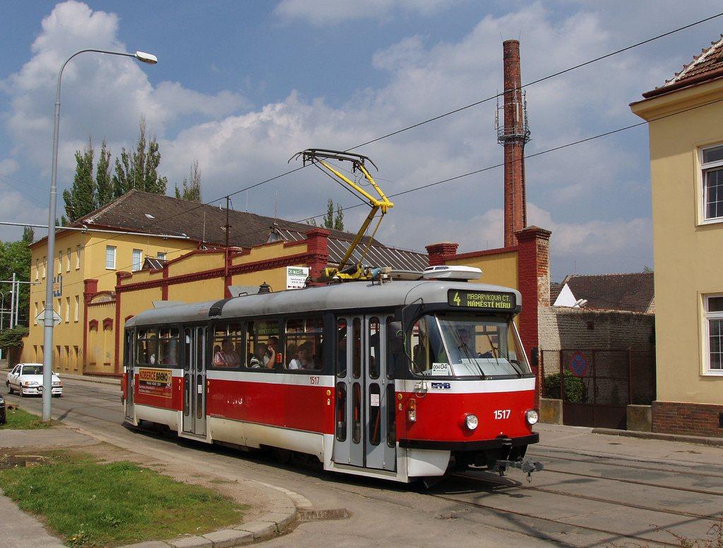 Fotogalerie » Pragoimex T3R.PV 1517 | Brno | Husovice | Valchařská