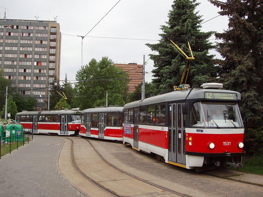 Fotogalerie » Pragoimex T3R.EV 1531 | Pragoimex VV60LF 1301 | Pragoimex T3R.EV 1569 | Brno | Královo Pole | Purkyňova | Červinkova