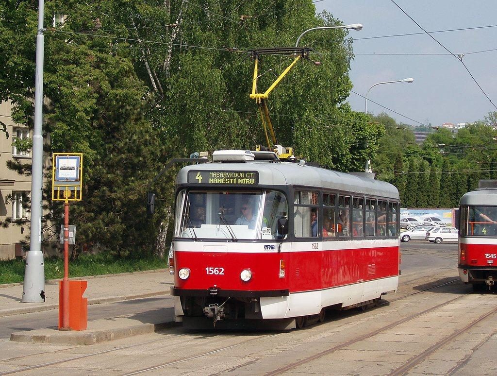 Fotogalerie » Pragoimex T3R.EV 1562 | Brno | Maloměřice | Dolnopolní | Maloměřický most
