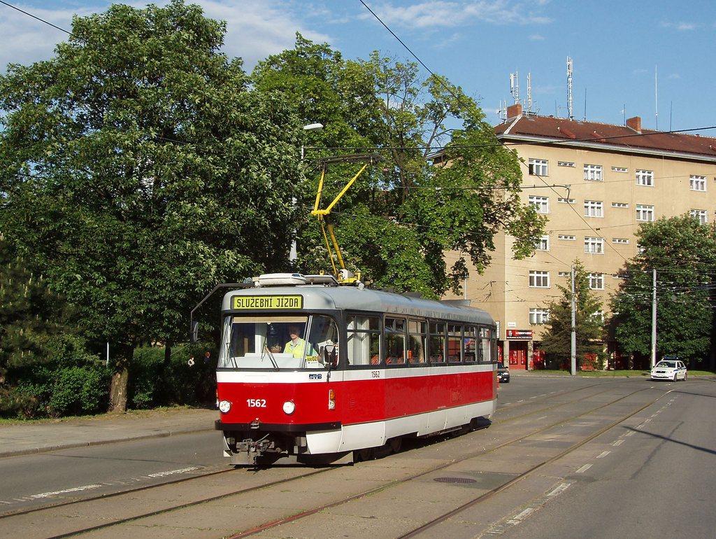 Fotogalerie » Pragoimex T3R.EV 1562 | Brno | Žabovřesky | Jana Babáka