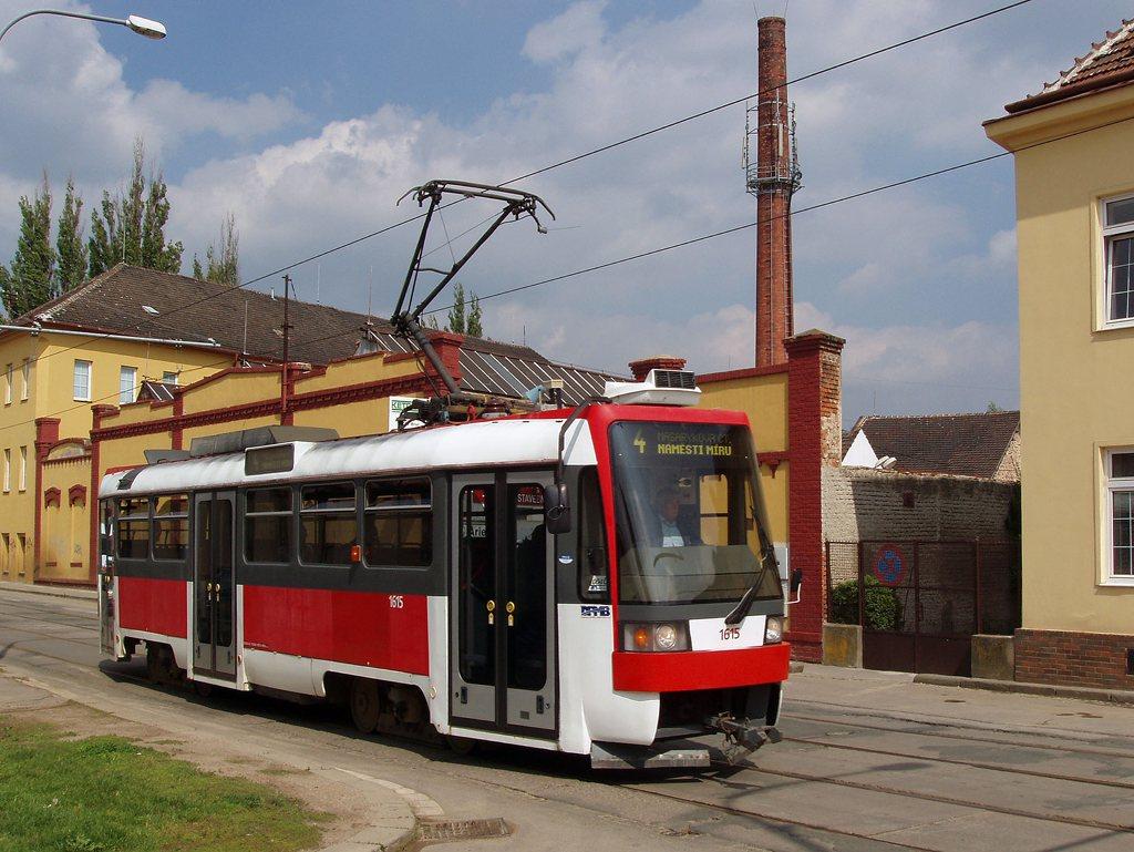 Fotogalerie » ČKD DS T3R 1615   Brno   Husovice   Valchařská