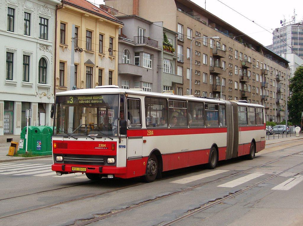 Fotogalerie » Karosa B741.1916 2304 | Brno | Žabovřesky | Veveří | Tábor
