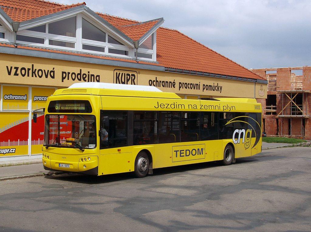 Fotogalerie » TEDOM Tedom 123 G 2J4 5970 2700 | Brno | Jundrov | Lelkova | Jundrov