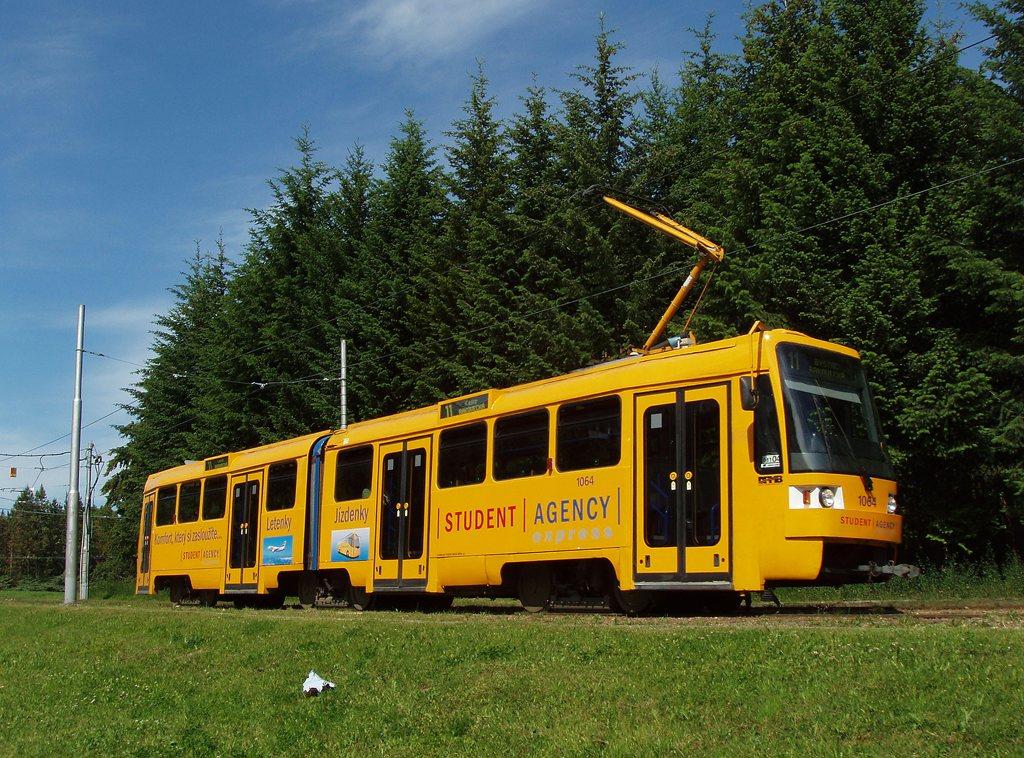Fotogalerie » ČKD Tatra K2R 1064 | Brno | Lesná