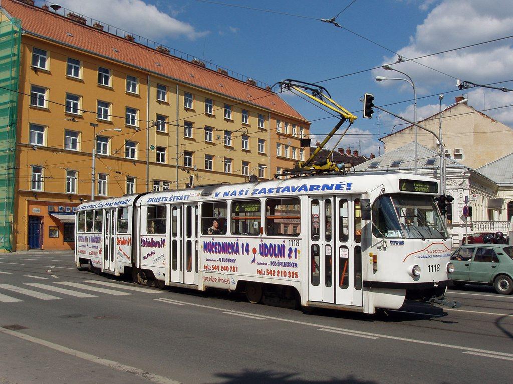 Fotogalerie » ČKD Tatra K2P 1118 | Brno | Staré Brno | Křížová