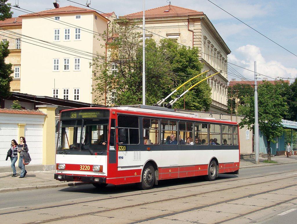 Fotogalerie » Škoda 14TrR 3220 | Brno | Veveří | Údolní