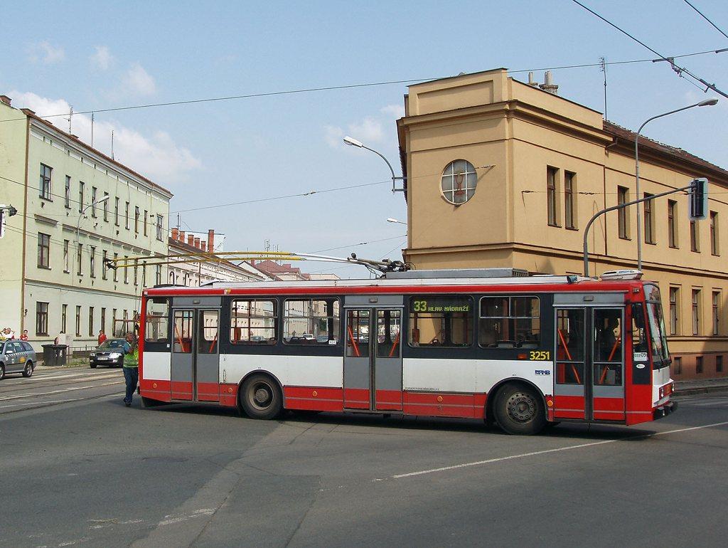 Fotogalerie » Škoda 14TrR 3251   Brno   střed   Tržní
